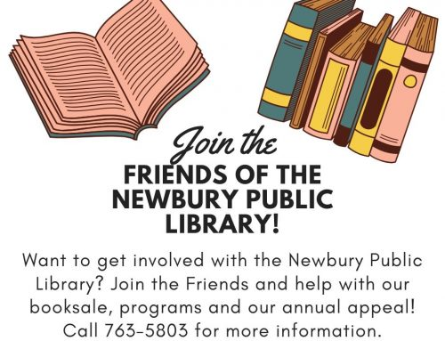 Join the Friends of the Newbury Public Library!