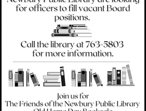 Friends of the Newbury Public Library Board positions available